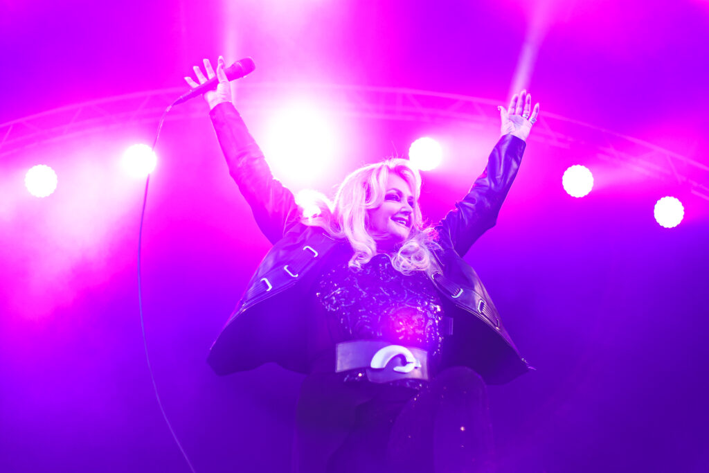 Picture of Bonnie Tyler singer at a performance
