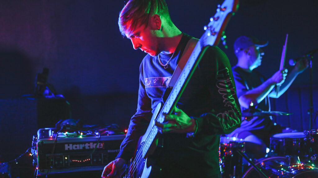 Photo of guitarist